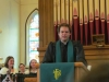 Rev. Jared addressed the graduates